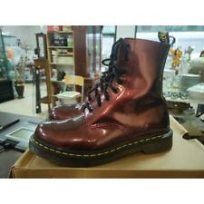 Anfibi donna dr martens pascal cherry rouge 8 holes