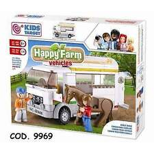 KIDS TARGET 9969 - Happy Farm Vehicles Horse Truck