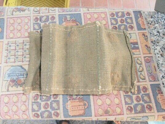 Ww2 regio esercito - pezzo stoffa contenitore porta mab samurai