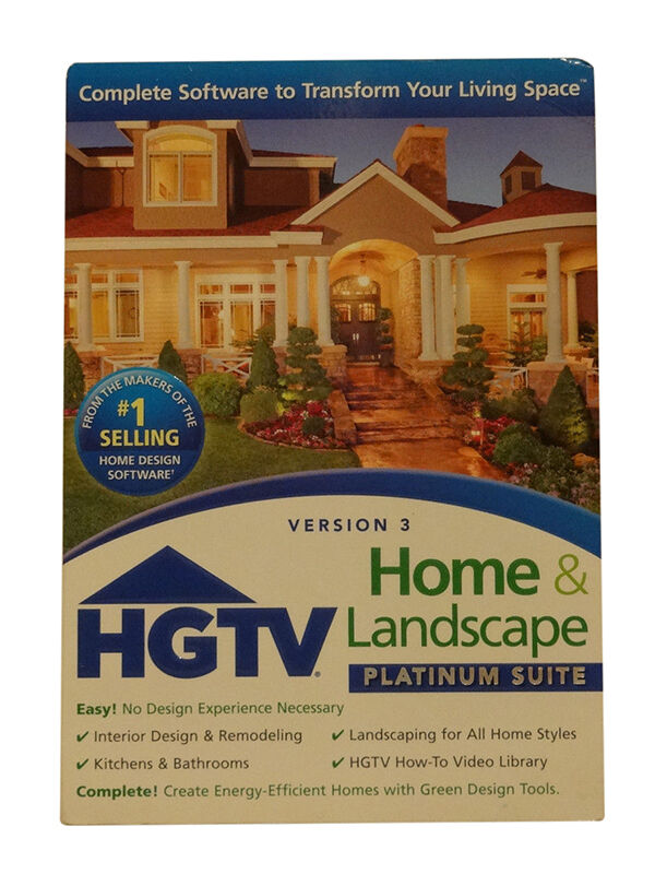 The Nova Development HGTV Home U0026 Landscape Platinum Suite Lets Users Design  Their Indoor And Outdoor Living Space With Over 10,000 Integrated Home  Plans, ... Part 83