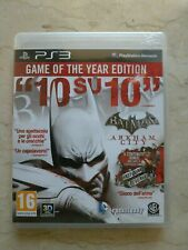 Batman Arkham City GOTY PS3 ITA Game of the Year Edition DLC