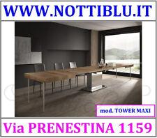 Tavolini Trasformabili Roma _ Tavolino Allungabile TOWER MAXI/A5