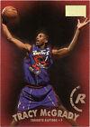 Rookie Tracy McGrady Toronto Raptors Basketball Cards