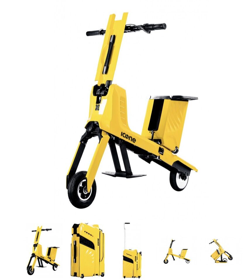 Scooter elettrico trolley nuovo