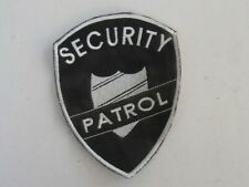 Security patrol - embroidered patch - san marino
