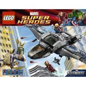 Lego Super Heroes - Quinjet Aerial Battle - 6869 NEU OVP Iron Man Thor
