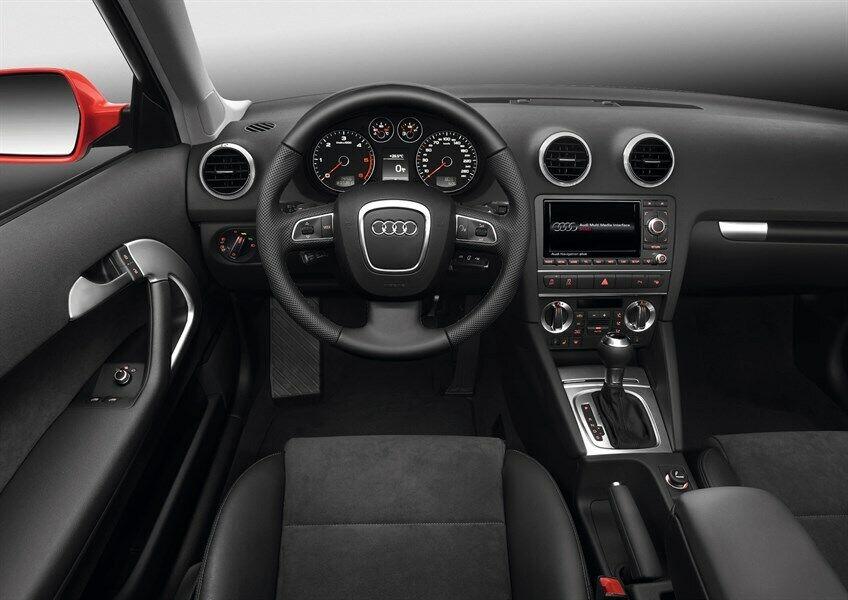 Audi A3 fanale paraurti parafango kit airbag ossatura 08>12 4