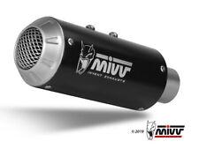 D.030.SM3B MIVV M3 INOX NERO DUCATI MONSTER 821 2015-2016