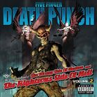 The Wrong Side of Heaven and the Righteous Side of Hell, Vol. 2 [PA] by Five Finger Death Punch (CD, 2013, Prospect Park)