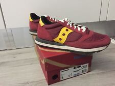 Saucony jazz 42.5 usa 9 red rouge