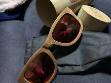 Occhiali sole isi in legno