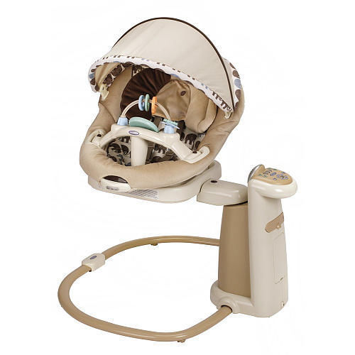 The Graco Sweetpeace swing provides innovative soothing solutions for any baby. Gracou0027s patented scientifically developed MomMotion mimics the soothing ...  sc 1 st  eBay : reclining baby swing - islam-shia.org