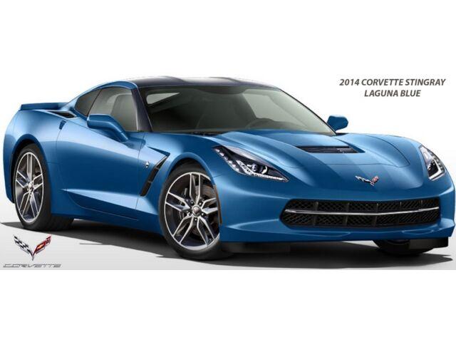 2014 Chevrolet Corvette Stingray Blue