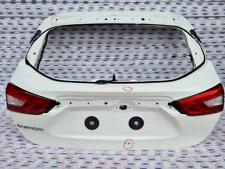 Portellone posteriore nudo di colore bianco qashqai J11 anno 2015