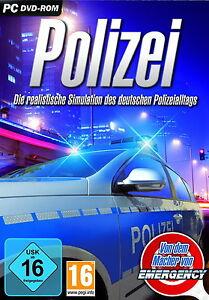 Polizei - Die realistische Simulation des deutschen Polizeialltags (PC, 2011,...