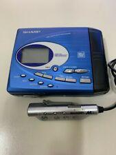 Vintage sharp md minidisc walkman recorder
