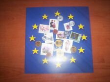 Folder La nuova Europa del 2004 francobolli e monete
