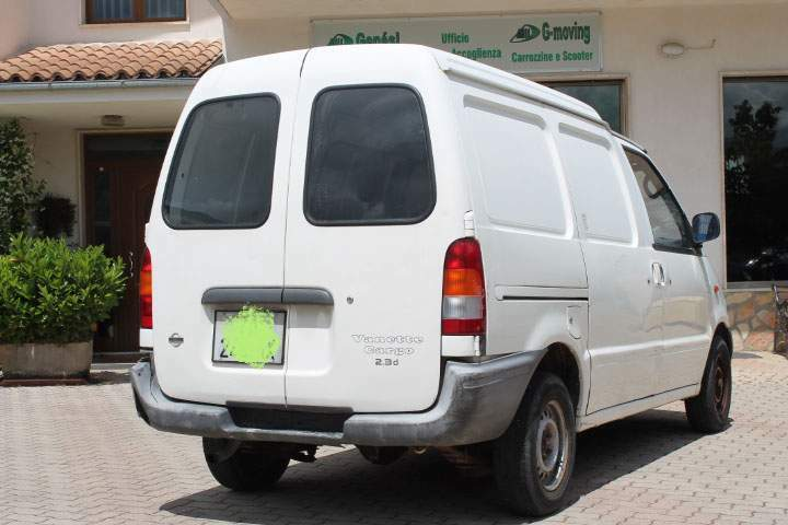 Nissan vanette cargo unipro motore nuovo 3