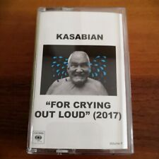 Audiocassetta For Crying Out Loud Kasabian - pezzo raro
