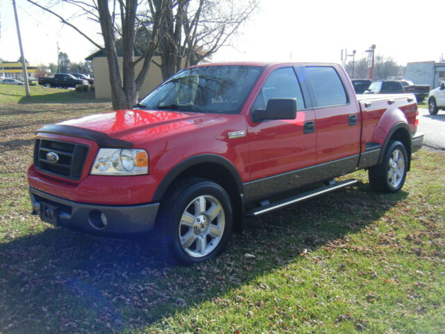 2006 ford f150 fx4 supercrew cab flareside 4wd used ford f 150 for sale in bettendorf iowa. Black Bedroom Furniture Sets. Home Design Ideas