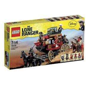 LEGO The Lone Ranger - Western - Flucht mit der Postkutsche (79108)