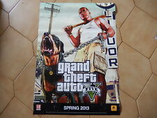 Poster Grand Theft Auto 2013 GTA5 originale dim. 85 x 60
