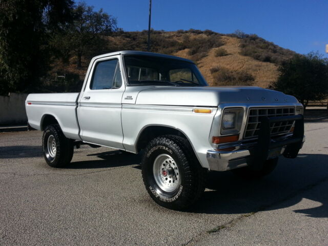 1979 Ford F150 Ranger 4x4 Short Bed 351 V8 4