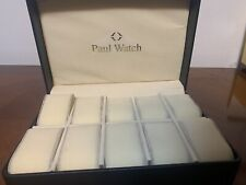 Paul watch espositore 10 orologi box