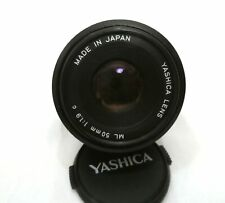 Yashica ml 50 mm 1:1.9
