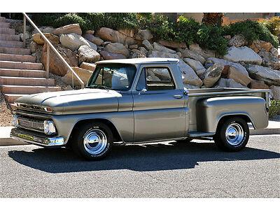 '66 Chevrolet C10 Stepside Pickup Beautiful Body Off Resto Custom Show Truck