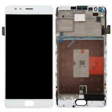 Display LCD + Touch Screen OnePlus 3T Vetro Ricambio Frame Kit Montagg