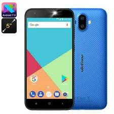 "Ulefone S7 Smartphone Android CPU Quad-Core Dual-IMEI Display 5"" 3G Bl"