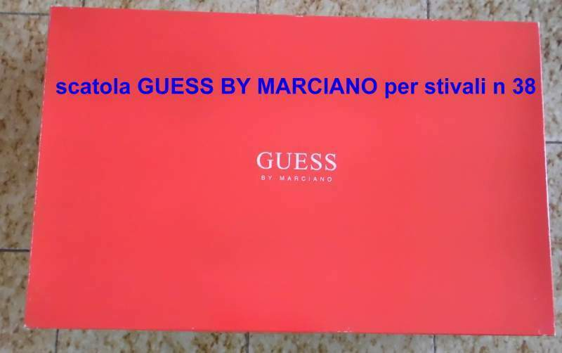 Scatola GUESS BY MARCIANO per stivali n 38