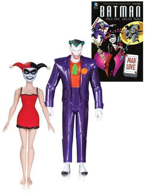 Batman The Animated Series Action Figure 2-Pack The Joker Harley Quin