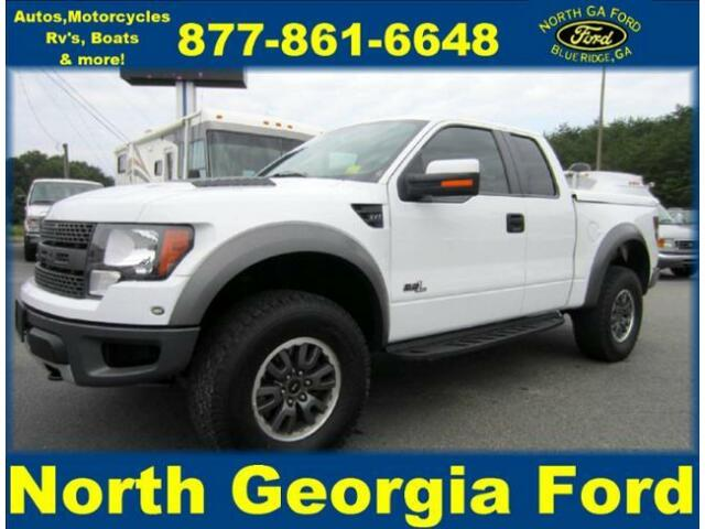 2011 ford raptor 4x4 super nice certified pre owned ford f 150 for sale in blue ridge georgia. Black Bedroom Furniture Sets. Home Design Ideas