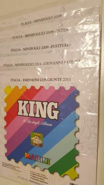 Classificatori KING Marini