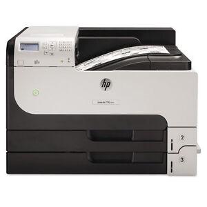 HP LaserJet Enterprise 700 M712dn High-volume A3 Mono Laser Printer (CF236A)