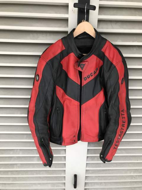 Giacca Ducati Dainese pelle