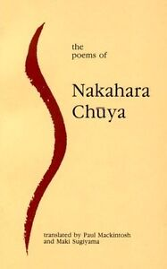 The-Poems-of-Nakahara-Chuya-Paperback-or-Softback