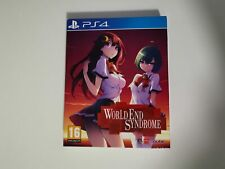 World End Syndrome PS4 collector artbook anime