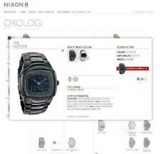 "Orologio Nixon ""The Insider"" All Black"