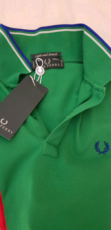 N 4 polo marca Fred Perry Tg M nuove 2