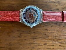 Swatch automatico Red Ahead