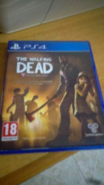 The walking dead PlayStation 4