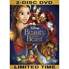 Beauty and the Beast (DVD, 2010, 2-Disc Set, Diamond Edition)