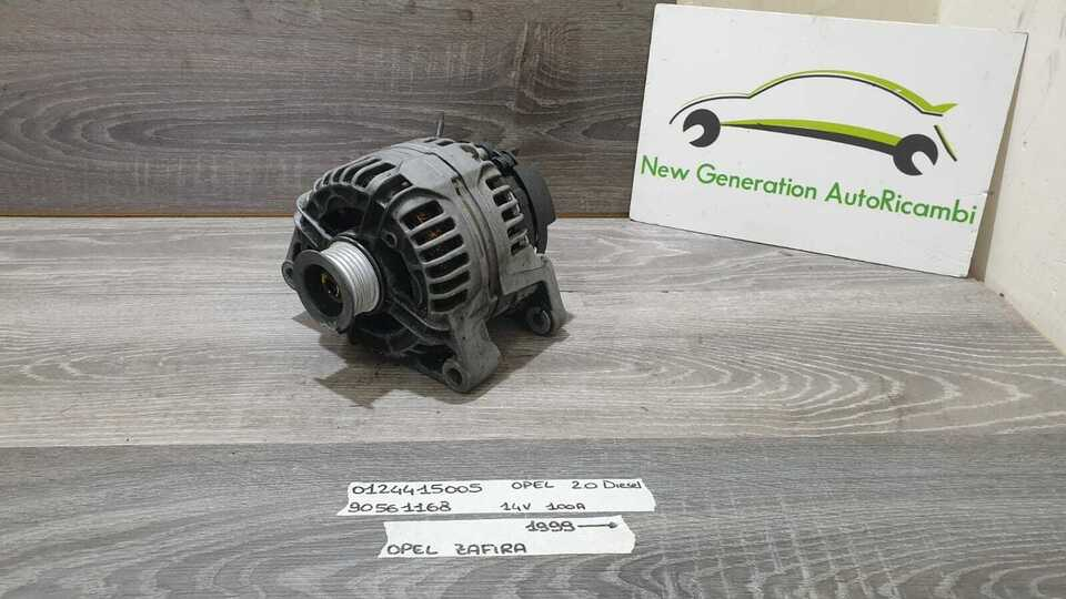 90561168 0124415005 alternatore opel zafira a 99>04 2.0 diesel