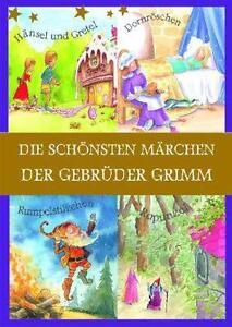 4-Buecher-in-Schuber-Die-schoensten-Maerchen-Gebrueder-Grimm-fuer-Erstleser-Brueder-Gr