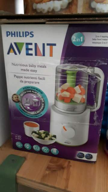 Easypappa avent 2 in 1 NUOVO