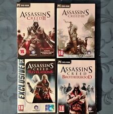 Videogiochi PC originali saga ASSASSIN'S CREED