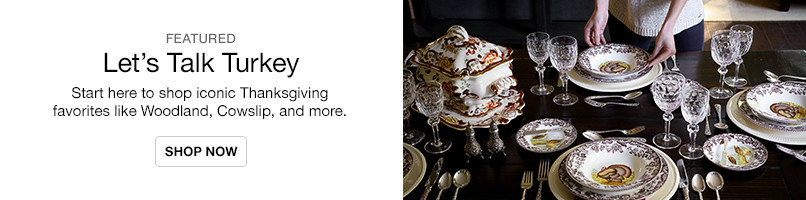 Shop Iconic Thanksgiving Dinnerware